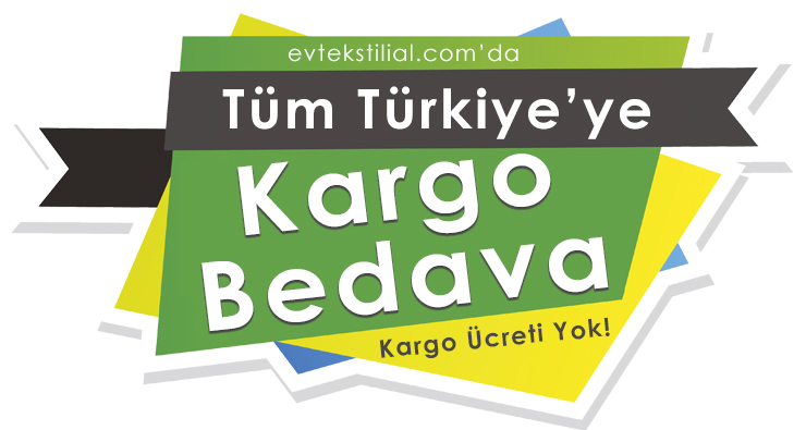 Tüm Türkiye'ye Kargo Bedava