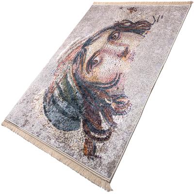 Zeugma Çingene Kızı Desenli Modern Halı 140x200 cm